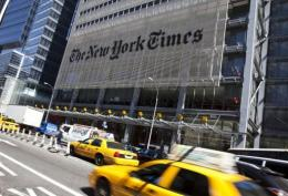 The New York Times Company said it lost $120 million in the second quarter