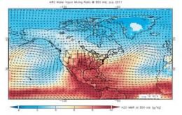 NASA satellite observes unusually hot July in the Great Plains