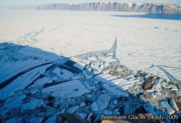 Pics of Greenland glacier melt shocks expert