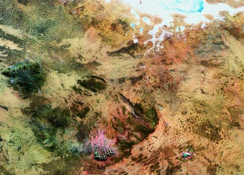 Earth from space: Sacred stones of the outback