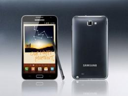Samsung's Galaxy Note has larger screen than the smartphone but smaller than the tablet
