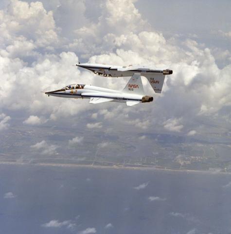 T-38s soar as spaceflight trainers