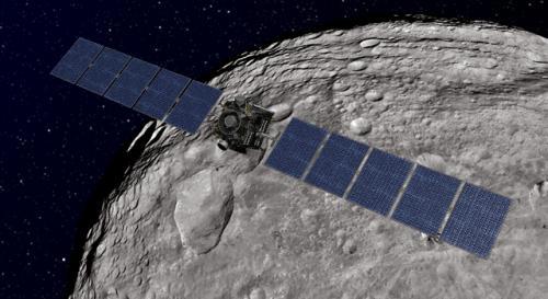 Dawn spacecraft spirals down to lowest orbit