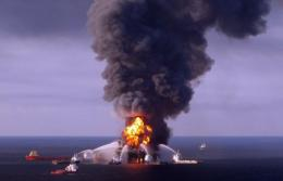 About five million barrels of oil spilled into the Gulf of Mexico after the BP-operated Deepwater Horizon rig exploded