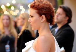 Actress Scarlett Johansson, pictured in June