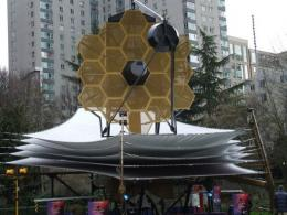 A full scale James webb Space Telescope