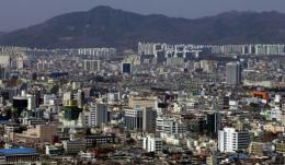 A general view of Daejeon City, 120 kilometres (72 miles) south of Seoul
