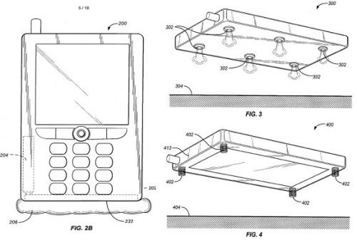 Amazon's Bezos envisions airbag phone, files patent