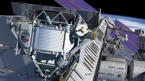 The Alpha Magnetic Spectrometer - AMS-02.