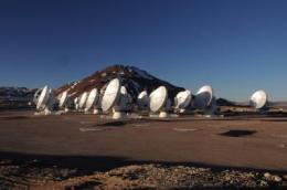 Antennas by General Dynamics enable 'early science' for ALMA