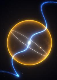 A planet made of diamond