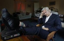 APNewsBreak: Assange says WikiLeaks work hampered (AP)