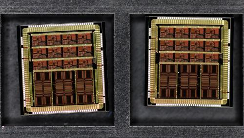 A power grid on a chip