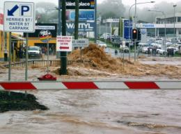 A report has said a sea-level rise of 0.5m would lead to surprisingly large impacts on Austrlian cities