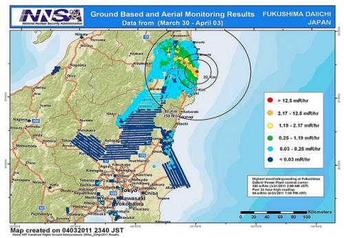 Argonne team helps map Fukushima radiation release