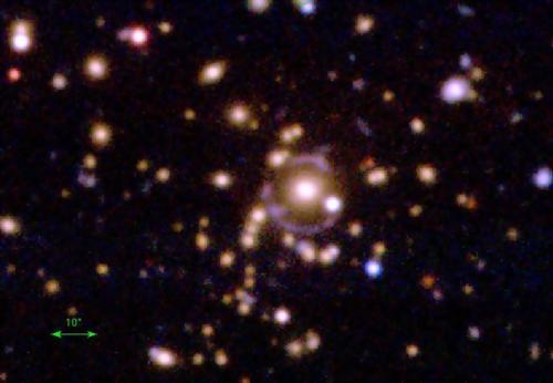 A serendipitous gravitational lens