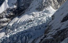 Austrian glaciers shrank dramatically this summer,  principally because of low amounts of snow the preceding winter