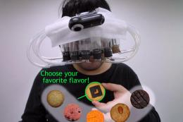 A virtual reality scent system that fools human taste