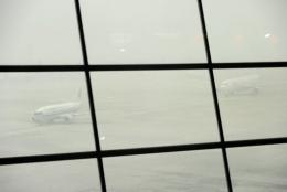 Beijing's main airport cancelled hundreds of flight due to the poor visibility on Sunday and Monday, angering passengers