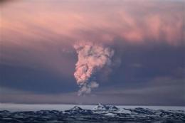 Bigger Icelandic eruption, but less airline angst (AP)