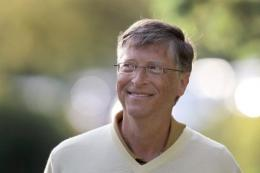 Bill Gates maintained a long rivalry with the Apple innovator, Steve Jobs
