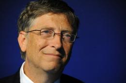 Bill Gates said he was busy working with the Bill & Melinda Gates Foundation
