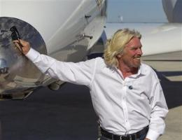 Branson and NM officials dedicate space terminal (AP)
