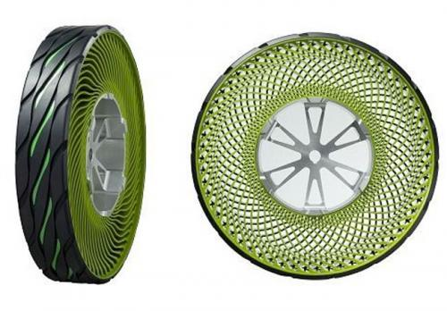 Bridgestone goes airless in tire concept for Tokyo show