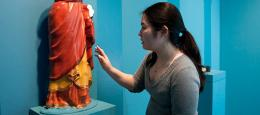 Cantor exhibition depicts how ancient world used color, how science reveals the faded past