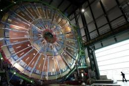 CERN's Large Hadron Collider is designed to accelerate protons to nearly the speed of light and then smash them together