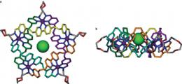 Chemists devise a way to create a five point knotted molecule