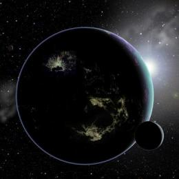 City lights could reveal E.T. civilization