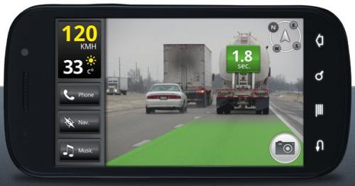 iOnRoad: An augmented reality app that makes driving safer