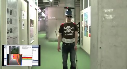 Kinect to help the blind 'see' in augmented reality