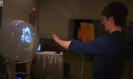 Queens University students hack Microsoft Kinect to make a 360-degree display