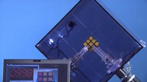 10.69 seconds: Robot Ruby breaks Rubik's record (w/ video)