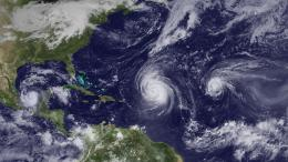 Clustered hurricanes reduce impact on ecosystems