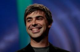 Co-founder of Google Larry Page
