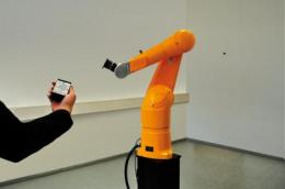 Controlling robotic arms is child's play
