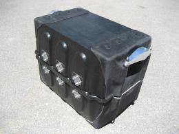 Crash-safe battery protection for electric cars