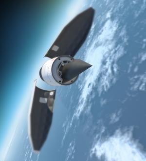 DARPA releases video of HTV-2 hypersonic glider flight