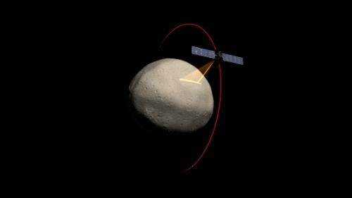 Dawn spacecraft approaches protoplanet Vesta