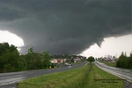 Detailed study of U.S. southeast tornadoes