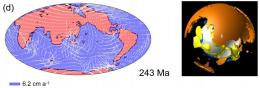 Japanese Earth scientists say giant plumes will prevent new Pangaea