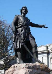 Did William Wallace aspire to be King of Scotland?