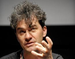 Director Mark Cousins attends