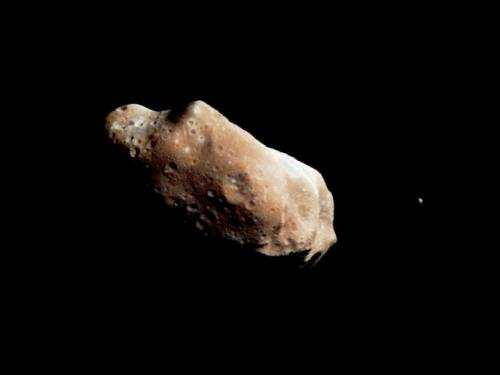 Does Asteroid Vesta have a moon?