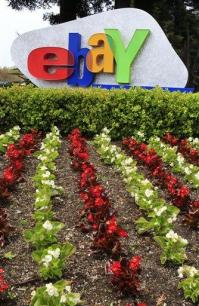 EBay profit falls on charges, results beat Street (AP)