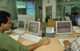 Employees of India's third largest software exporter Wipro work in Bangalore