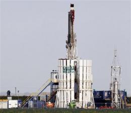 English tremors blamed on shale 'fracking' (AP)